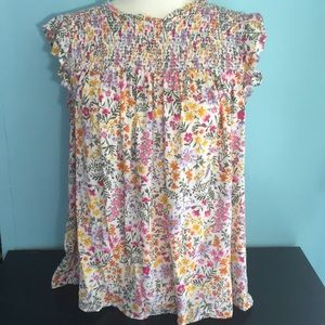 🌞Pretty Floral Top Old Navy XL Last Call